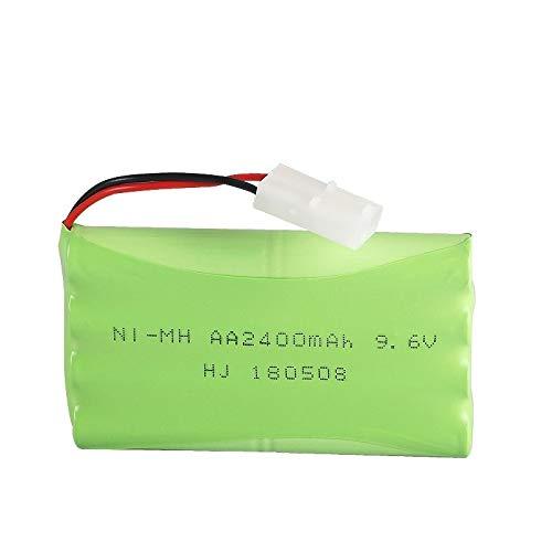 Batería de Juguete de 9,6 V 2400 mAh, Utilizada para el Equipo de Seguridad de la batería AA del Coche de Juguete electrónico de Control Remoto Batería de 9,6 v Green