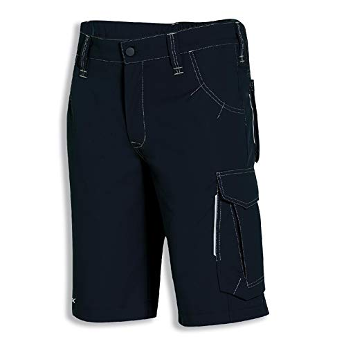 Uvex New Worker 3835 Kurze Herren-Arbeitshose - Schwarze Männer-Shorts 62