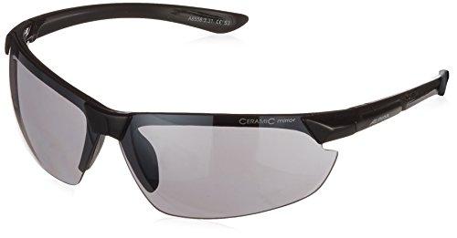 ALPINA Sonnenbrille Amition Draff Outdoorsport-Brille, Black, One Size
