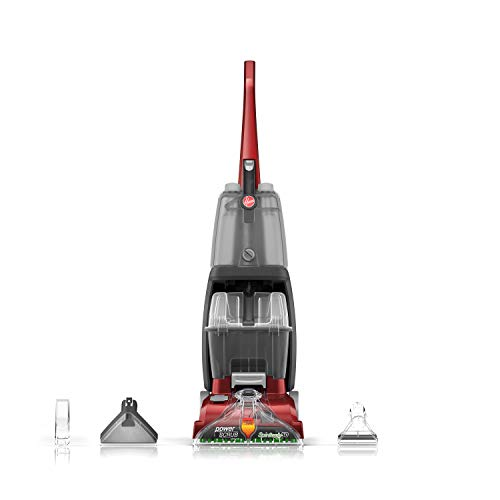 Hoover Power Scrub Deluxe Carpet Cleaner Machine, Upright Shampooer,...