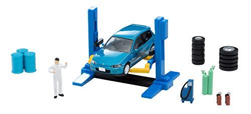 トミカラマ ヴィンテージ 1/64 06a カーリフト (TLV-NEO ホンダ シビックSiR -II付属) ミニカー用 ABS樹脂製 アクセサリー (メーカー初回受注限定生産) 完成品 312246