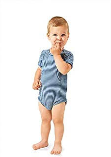 Burda 9384 Schnittmuster Body & Strampler Baby, Gr. 56-92