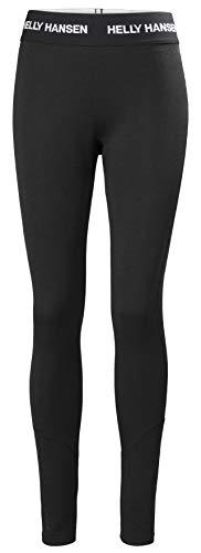 Helly Hansen W LIFA Merino Midweight Pant Haleter Femme Black FR: XL (Taille Fabricant: XL)