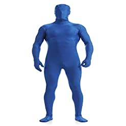 Unisex Spandex Zentail Full Bodysuit Stretchy Adult Costume Unitard Zipper Catsuit Jumpsuit Stage Dancewear