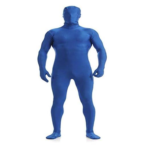 Unisex Spandex Zentail Full Bodysuit Stretchy Adult Costume Unitard Zipper Catsuit Jumpsuit Stage Dancewear