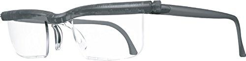ドゥーアクティブ 老眼鏡 シニアグラス 度数調節(+0.5D〜+4.0D) 拡大機能 UVカット おしゃれ (グレー)
