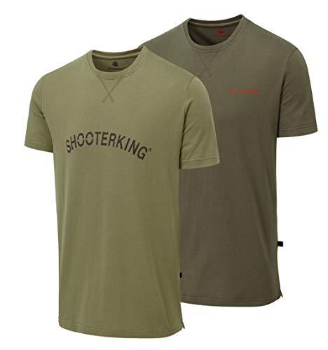 Shooterking Outlander T-Shirt Olive XL/ 54