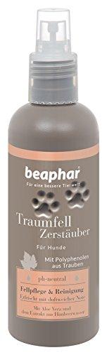 Premium Traumfell Zerstäuber | Reinigung & Fell-Pflege für Hunde | Hunde Deo mit Himbeerwasser-Extrakt | Feuchtigkeitsspendend (Aloe Vera) | 200 ml