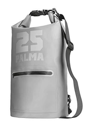 Trust Palma - Bolsa Impermeable de 25 L, Color Gris