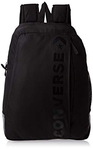 Converse Unisex-Erwachsene Speed 2 Backpack Tagesrucksack, schwarz, 20l