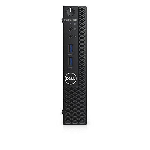 Dell CFC5C OptiPlex 3050 Micro Form Factor Desktop Computer, Intel Core i5-7500T, 8GB DDR4, 256GB Solid State Drive, Windows 10 Pro
