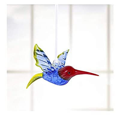Crystalsuncatcher Hummingbird Glass Ornaments