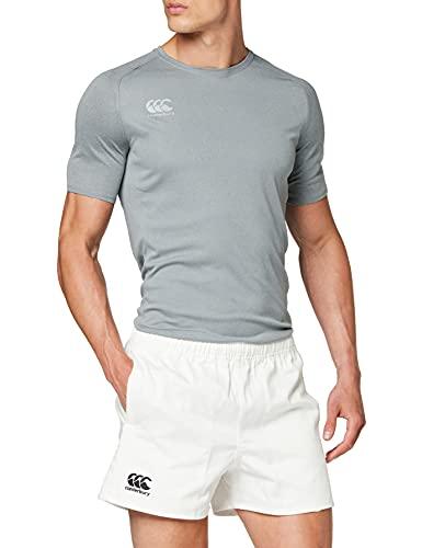 Canterbury Herren Rugbyshorts Professionel Baumwolle, Weiß, XL, E523405-001-XL