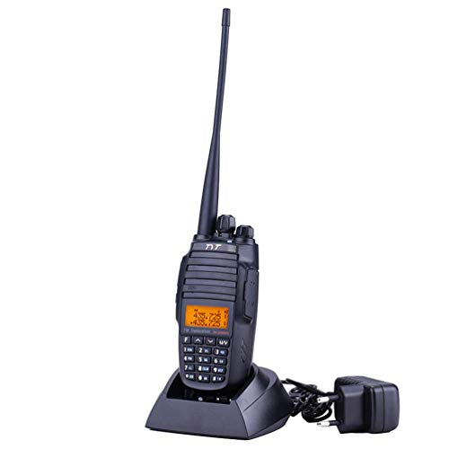 XMZWD Walkie Talkie High-Power 10W De Doble Segmento De Doble Pantalla Y Repetidor De Segmentos Cruzados FM Handpiece 128 Canales, 3600 mAh/Soporte De Encriptación De Voz/Escaneo