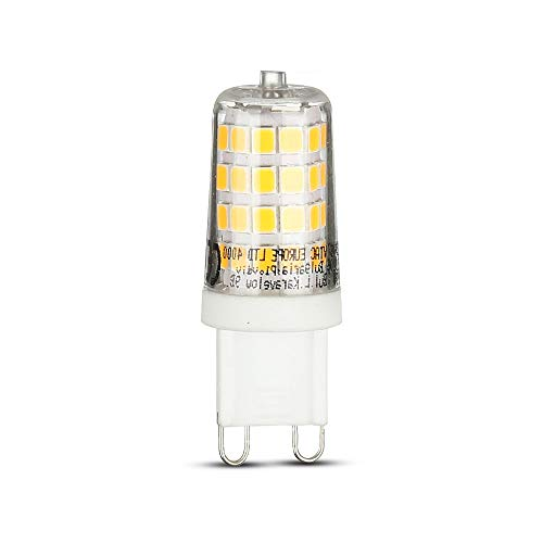Lot de 6 spots LED G9 3 W 3000 K