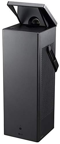 LG Beamer HU80KG tot 381 cm (150 inch) CineBeam Laser 4K UHD projector (2500 lumen, HDR10, slimme functies, Laser 20000), zwart