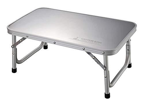 キャプテンスタッグ(CAPTAIN STAG) テーブル ステンレストップテーブル 焚き火テーブル W56×D34×H24cm 収納バッグ付き UC-544