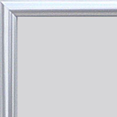 Home Decoration kampen aluminium fotolijst posterlijst 20 x 84 Verglasung: Acrylglas Antireflex 1 mm Zilver hoogglans