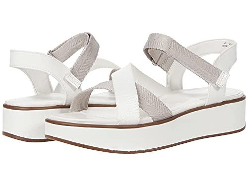 Naturalizer Women s Balena Sandal  White  10 Wide