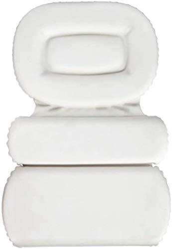 DALUXE Oreiller Spa Bain Design À Trois Panneaux pour Le Soutien du Cou Complète Convient De du Bain Cou pour Taille Épaule Toute Corps Oreillers