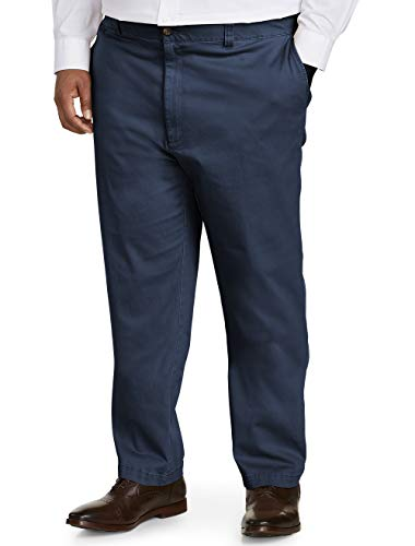 Amazon Essentials Men's Big-Tall Athletic-Fit Casual Stretch Khaki Pant Pants, -Navy, 44W x 30L
