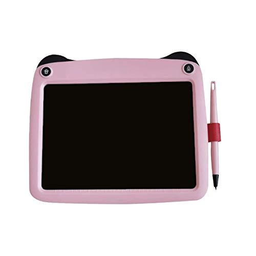 Sdesign Tableta de escritura LCD, 9 pulgadas Pantalla colorida Digital Gráficos electrónicos Tableta de escritura portátil Tablero de escritura Doodle Dibujo Pad Memo Tablero de notas para niños Ofici