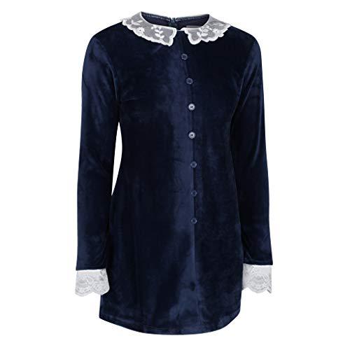 The Cosplay Company Chilling Witch - Vestido corto - Azul - UK10/US 6