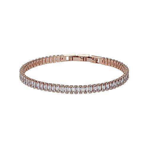 Stroili - Bracciale strass in metallo rosato per Donna