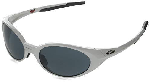 Oakley Oo9438-0458 gafas de sol, Blanco Pulido, 58 Unisex Adulto