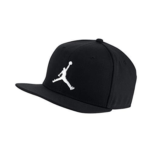 ナイキ ジョーダン プロ ジャンプマン スナップバック JORDAN JUMPMAN ロゴ 帽子 ベースボールキャップ AR2118 (ブラック) [並行輸入品]