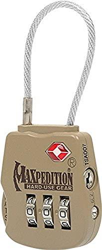 Maxpedition Tactical Cadenas pour bagages Kaki
