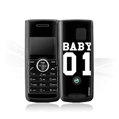 DeinDesign Folie kompatibel mit Sony Ericsson J120i Aufkleber Skin aus Vinyl-Folie Baby Bae Paerchen Hülle