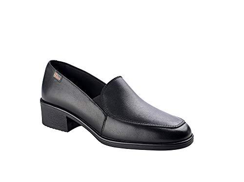 DIAN - Relax-5 Damen-Schuh aus Leder, Schwarz, Schwarz - Schwarz  - Größe: 42 EU