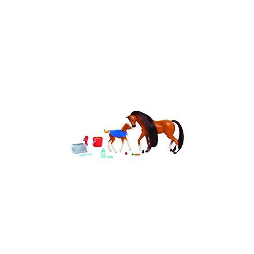 Spirit, Estuche para mamá y polain con Accesorios, interacciones, numerosos Accesorios, crinina para peinar y peinar, Juguete para niños a Partir de 3 años, PRT09