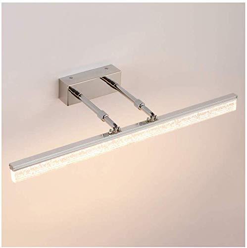 Carl Artbay Shuai Beautiful lamp/ * Roestvrij stalen acryl LED-spiegelkast licht (40-150 cm) (kleur: warm licht 8W / 40CM)