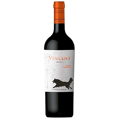 Vinho Tinto Vincent Syrah Cabernet 750Ml Vincent Cabernet Sauvignon