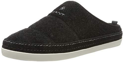 GANT Footwear Herren FRANK Pantoffeln, Schwarz (Black G00), 44 EU