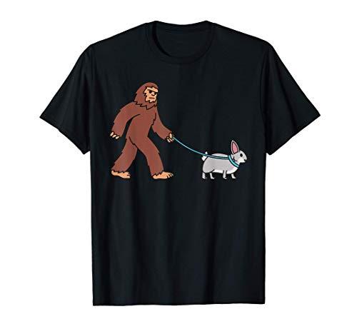 Pie Grande Conejo Mascota Camiseta