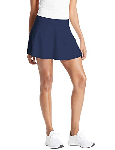 TAIPOVE Falda de Golf de Cintura Alta para Mujer Falda Corta de Tenis Running Sexy