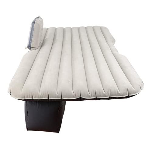 WEVB Cama inflable cama de aire cojín engrosamiento luz Gary impermeable universal coche viaje inflable colchón coche HWC (gris claro)