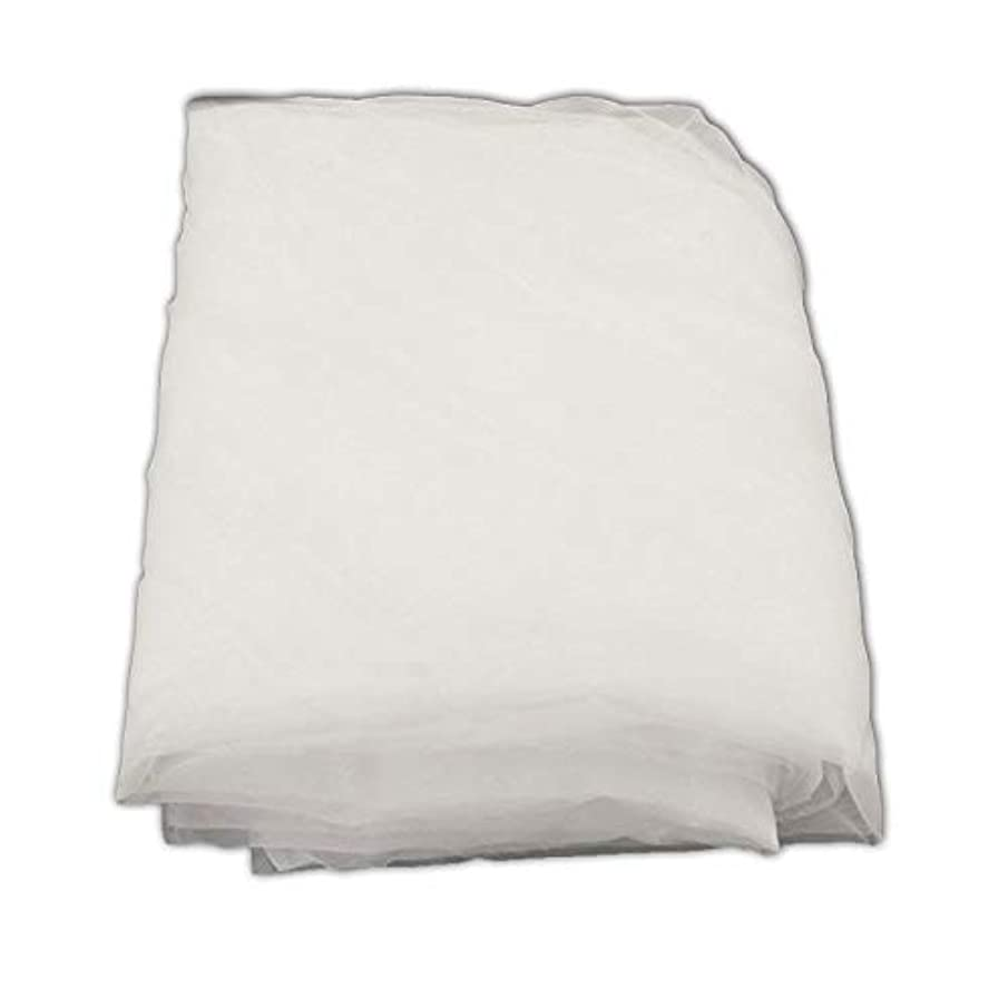 ETPUVIUMBE 160 Mesh 1.4Yard(1.27m) Width 1Yards(0.9m) Length One Piece White Silk Screen Silkscreen Printing Fabric