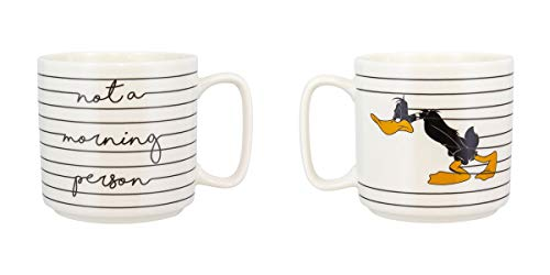 Paladone PP5664LOO Looney Tunes Daffy Eend Mok | Standaard grootte Koffie Thee Keramische Beker | Leuke & Super Leuke manier van het drinken van uw favoriete drankje, Steengoed