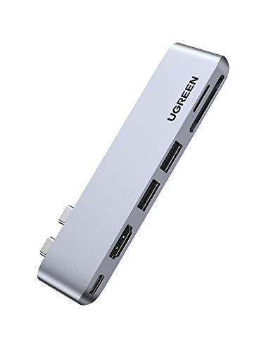 UGREEN HUB USB C 6 En 2, Adaptador USB C HUB Macbook Pro Air