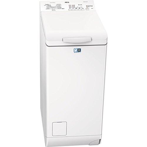 AEG L51060TL Libera installazione Caricamento dall'alto 6kg 1000Giri/min A+++ Bianco lavatrice