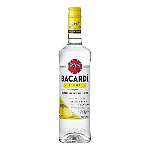 Bacardi Limón Ron, 700ml