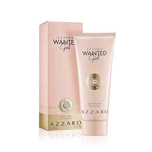 Azzaro Wanted Girl Shower Milk - Moisturizing Body Wash for Women - 6.8 Fl Oz