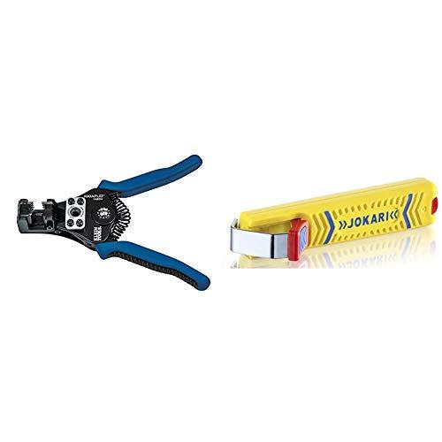 Klein Tools 11063W Wire Cutter/Wire Stripper, Heavy Duty Wire Stripper...