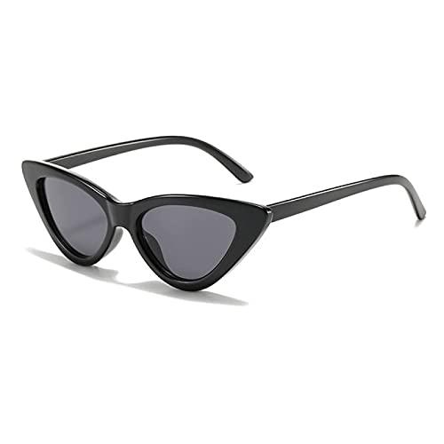 Lsdnlx Gafas de Sol,Gafas De Sol para Mujer, Retro, Sexy, Pequeño, Ojo De Gato, Gafas De Sol, Gafas De Colores para Mujer, Oculos De Sol