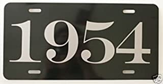 1954 54 YEAR METAL LICENSE PLATE TAG 6 X 12 FITS FORD CHEVY DODGE BUICK LINCOLN DESOTO MERCURY STUDEBAKER OLDS PACKARD HOT Rod Muscle CAR Classic Museum Collection Novelty Gift Sign GARAGE MAN CAVE