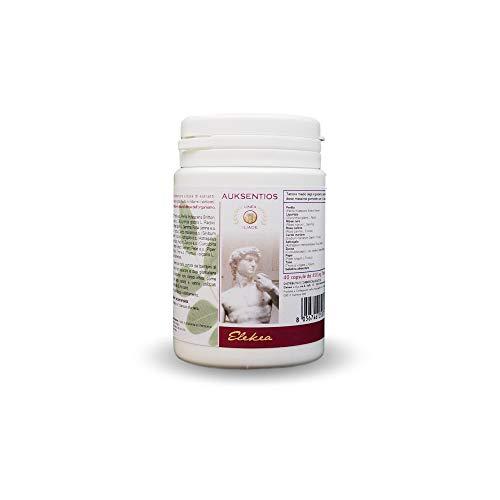 ELEKEA Antistaminico Naturale senza Glutine Auksentios, 40 Capsule da 450 milligrammi